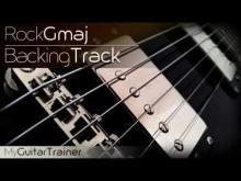 Embedded thumbnail for Backing Track - Rock - G Major