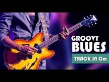 Embedded thumbnail for Seductive Groovy Minor Blues Guitar Backing Track Jam in Cm