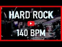 Embedded thumbnail for Hard Rock Drum Track 140 BPM Rock Drum Beat Backing Track (Track ID-20)