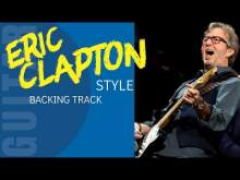Embedded thumbnail for Eric Clapton Sweet Ballad Style Backing Track Jam in B minor