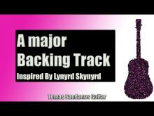 Embedded thumbnail for Backing Track in A Major Rock Style with Chords & A Major Pentatonic Scale