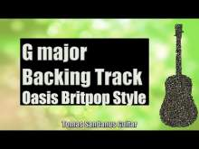 Embedded thumbnail for Live Forever Style Backing Track in G major - Oasis Britpop Guitar jam Backtrack