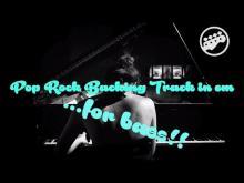 Embedded thumbnail for Pop Rock Backing Track in em - bassless