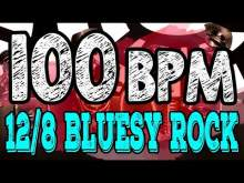 Embedded thumbnail for 100 BPM - Blues Rock Shuffle #1  - 12/8 Drum Track - Metronome - Drum Beat