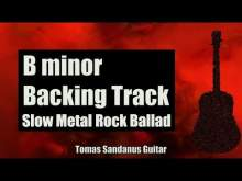 Embedded thumbnail for B minor Backing Track - Bm - Sad Slow Metal Rock Ballad Guitar Jam Backtrack