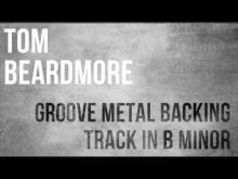 Embedded thumbnail for Metal Guitar Backing Track in B Minor - Groove Metal