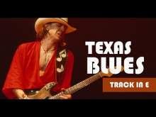 Embedded thumbnail for Gorgeous Texas Blues Guitar Backing Track in E