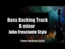 Embedded thumbnail for Bass Backing Track - B minor - John Frusciante style - Heavy Rock RHCP - NO BASS -Chords  Scale  BPM