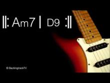 Embedded thumbnail for Funky Guitar Backing Track in Am / A Dorian