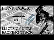 Embedded thumbnail for Backing Track Funk Rock to improvise