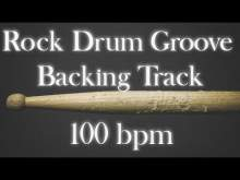Embedded thumbnail for Rock Drum Groove Backing Track