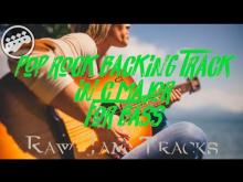 Embedded thumbnail for Pop Rock backing Track in C major - no bass