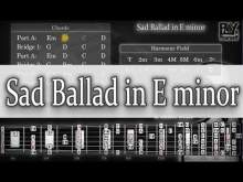 Embedded thumbnail for Backing Track -  Sad Ballad in E minor