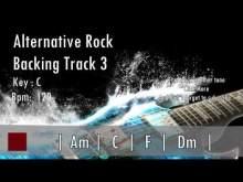 Embedded thumbnail for Alternative Rock Guitar Backing Track In C Major