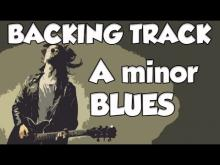 Embedded thumbnail for A MINOR BLUES BACKING TRACK