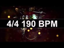 Embedded thumbnail for Drums Metronome 190 BPM