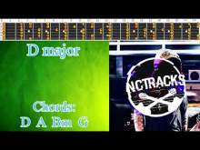 Embedded thumbnail for Fast 80's Pop Style Guitar Backing Track - D Major | 160 bpm [NCTracks Release]