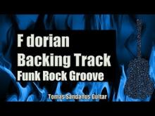 Embedded thumbnail for F dorian Backing Track - Funk Rock Groove Guitar Backtrack - Chords - Scale - BPM
