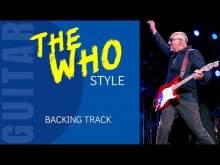 Embedded thumbnail for THE WHO Rock style Guitar Backing Track jam in D 56 Bpm AV28