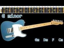 Embedded thumbnail for Nostalgic Groovy Ballad Guitar Backing Track - G minor   105bpm