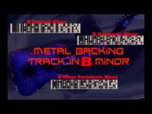 Embedded thumbnail for Nice Metal Backing Track in Bm #2