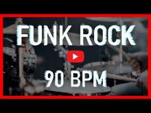 Embedded thumbnail for Funk Rock Drum Loop 90 BPM Rock Drum Beat Backing Track (Track ID-45)
