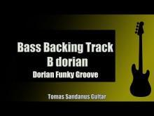 Embedded thumbnail for Bass Backing Track B dorian - Funk Groove