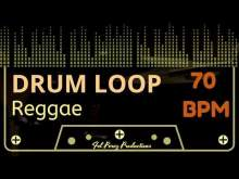 Embedded thumbnail for REGGAE - DRUM LOOP 70 BPM (Backing Track Bateria)