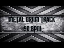 Embedded thumbnail for Disturbed Style Metal Drum Track 90 BPM (HQ,HD)