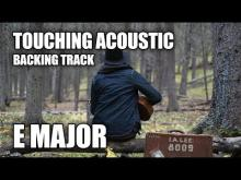 Embedded thumbnail for Touching Acoustic Guitar Backing Track In E Major