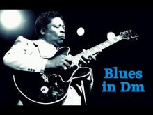 Embedded thumbnail for Blues Backing Track BB King Style in D Minor 110 bpm