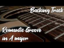 Embedded thumbnail for Romantic Groove Backing Track in A major | #SZBT 449