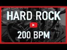 Embedded thumbnail for Hard Rock Metal Drum Track 200 BPM Drum Beat Backing Track (Track ID-24)