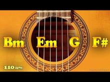 Embedded thumbnail for Gipsy Rumba Flamenco Backing Track B Minor