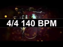 Embedded thumbnail for Drums Metronome 140 BPM