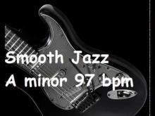 Embedded thumbnail for Smooth Jazz backing track A minor 97 bpm