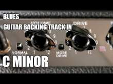 Embedded thumbnail for Blues Guitar Backing Track In C Minor