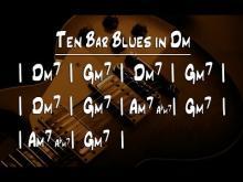 Embedded thumbnail for Dm Backing Track - Ten Bar Blues in Dm