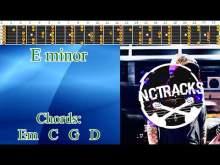 Embedded thumbnail for Epic Melancholic Charming Rock Ballad Guitar Backing Track - E minor   100 bpm