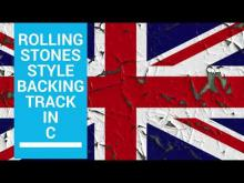 Embedded thumbnail for Rolling Stones Style  Ballad Backing Track in C