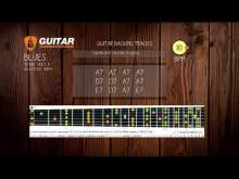 Embedded thumbnail for 12 bar Slow Blues Rock in A | BLUES | 80 BPM | Guitar Backing Track | 4/4 | GBT002