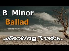 Embedded thumbnail for Slow Rock Ballad Backing Track in Bm