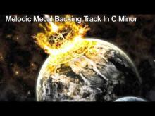Embedded thumbnail for Melodic Metal Backing Track In C Minor