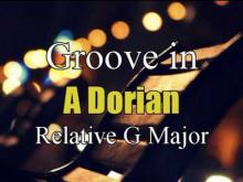 Embedded thumbnail for Groove in A Dorian Backing track