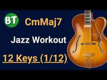Embedded thumbnail for (1/12) CMinMaj7 Chord Swing Jazz Backing Track (IN ALL 12 KEYS) - 120bpm - (One chord workout)
