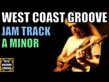 Embedded thumbnail for West Coast Groove Guitar Backing Track Jam in A Minor