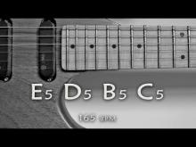Embedded thumbnail for Hard Rock Power Chords Guitar Backing Track E Minor