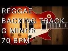 Embedded thumbnail for Reggae Guitar Backing Track | G Minor (70 bpm)