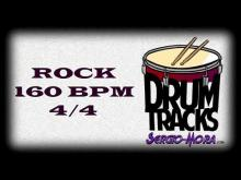 Embedded thumbnail for Drum track ROCK 160 BPM