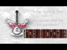 Embedded thumbnail for Guitar Backing / Jam Track - Rockabilly / Rock n Roll in Am / C